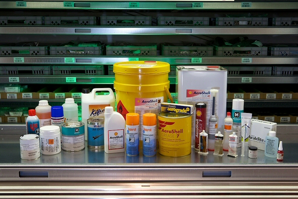 Oils, greases, sealants and solvents