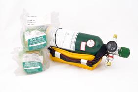176960 14 Steel Portable Oxygen Bottle Set Aircraft